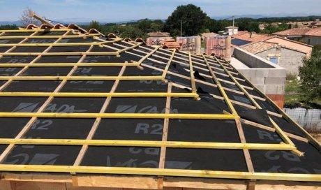 Entreprise professionnelle pour la rénovation de toiture La Calmette